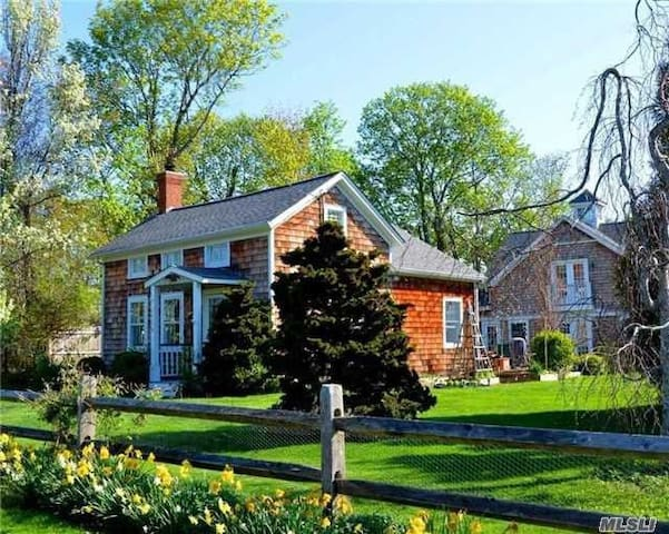 Eclectic artist inspired Southold farmhouse