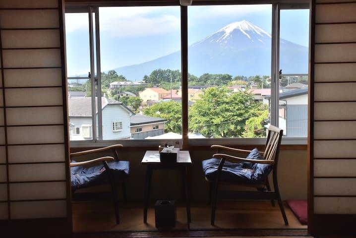 Shogo's house Aoiso4 TheBestFujiview 民宿あおい荘