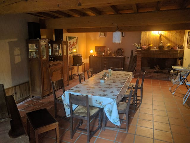 Prestigious old french farm house with 7 seat MPV