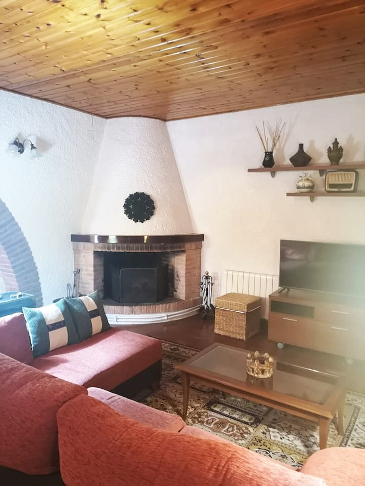 Casa rústica en plena naturaleza