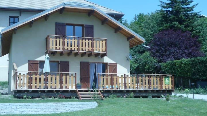 gite douillet et familial au coeur des Alpes
