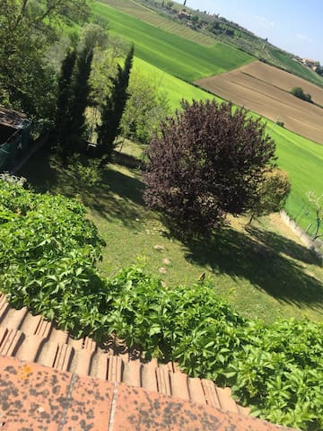 Flat on the Tuscan - Umbrian  border