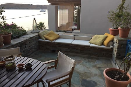 Wonderful maisonette by the sea in Kea. Cyclades