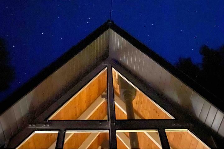 The Mid-Century A-Frame House