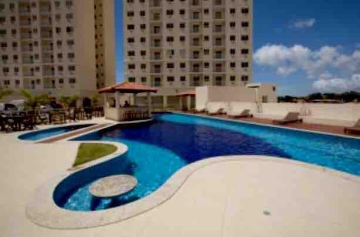 AP lindo mobiliado-condomínio clube P de Itapuã BA