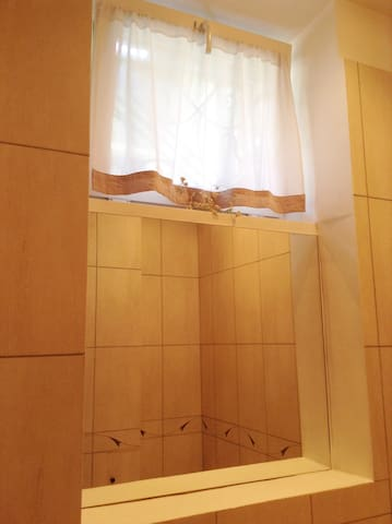 Bathroom decor curtain