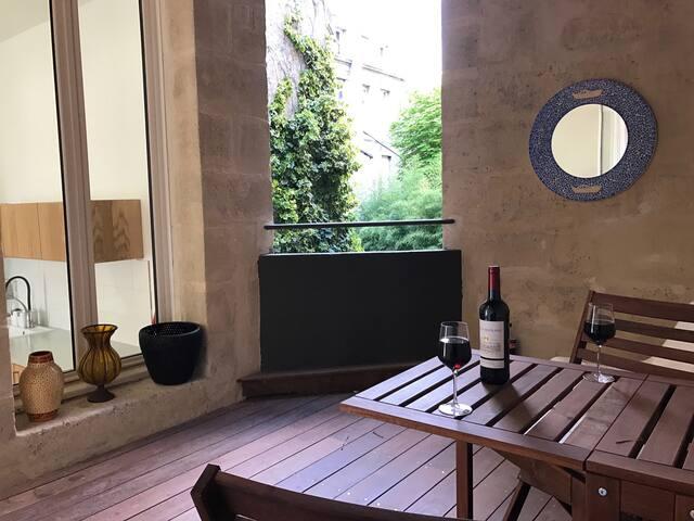 Superbe T4 plein centre+Terrasse - Bordeaux - Apartament