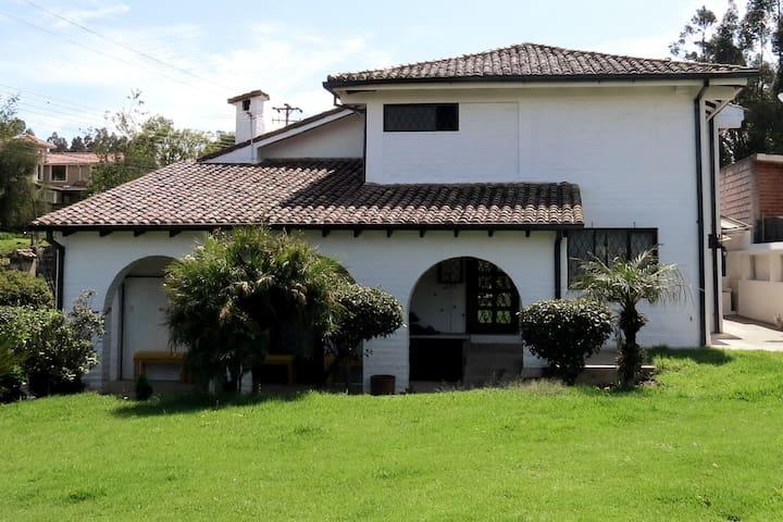 Mi casa en el Valle de los Chillos