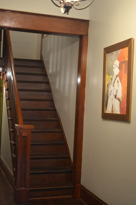 Hallway to upstairs