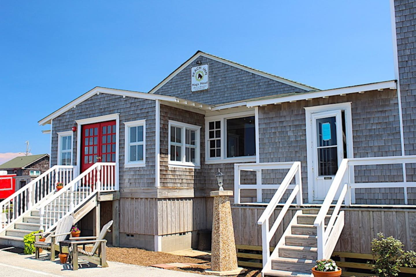Nags Head Beach Inn Located at 303 E Admiral St