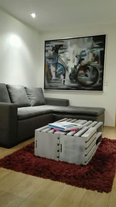 Sala conforable