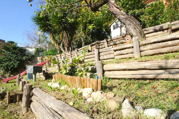 2 Bedroom Apt w/ Terrace and Garden
