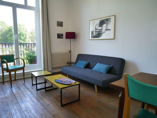 Lille : appartement avec vue sur jardin et verger - Lille - Wohnung