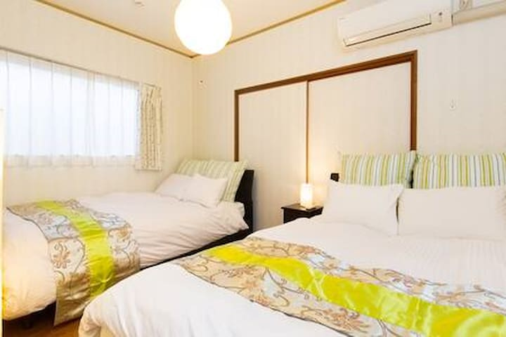Near Osaka castle!2BD wt 9ppl room/3min→JR Sta.