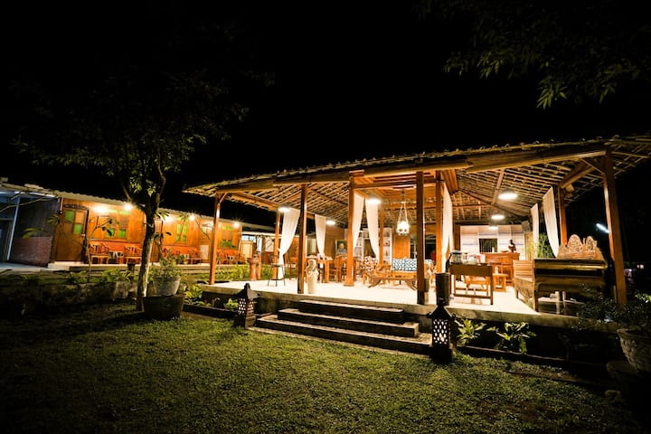 Cabin Garden Villa 16 pax/more for Gathering