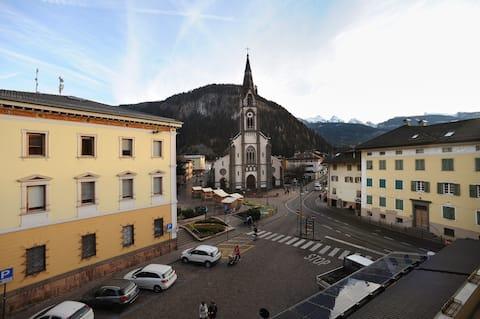Lejlighed i hjertet af Predazzo, Fiemme og Fassa