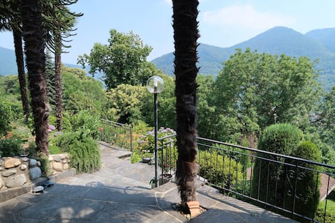 Casa al ronco, Ferienwohnung mit grosser Terrasse