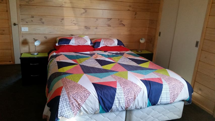 The master bedroom - king bed