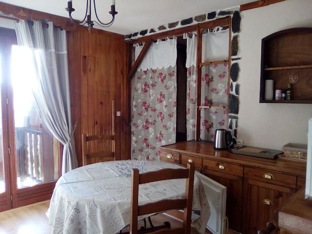 T2 cosy, coeur station familiale, 4/6 couchages - Montclar - Wohnung