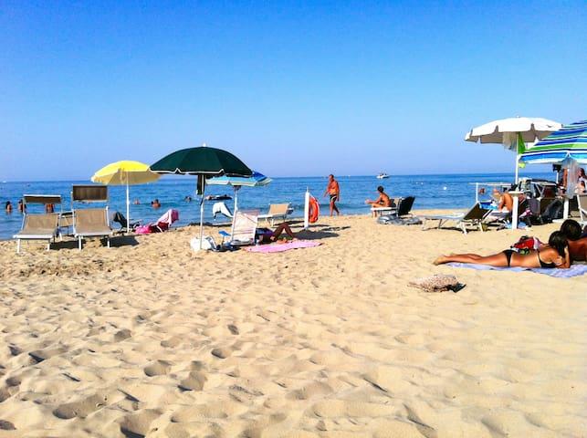 Herrliche Sandstrände in Lido Morelli
