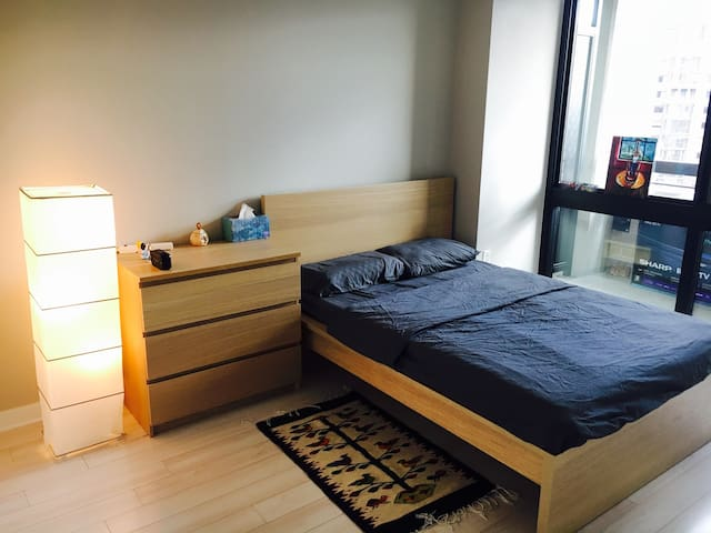 Private BR in luxury APT 5min to metro 10min to DC - Arlington - Daire