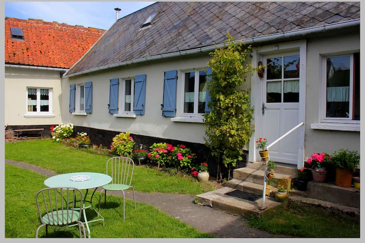 Maison picarde en baie de Somme - Port-le-Grand - House