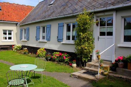 Maison picarde en baie de Somme - Port-le-Grand - Hus