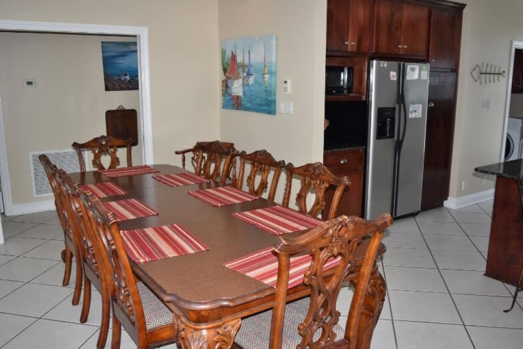 Dining Table Seats 8-10