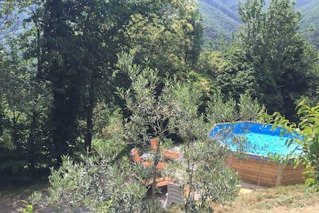 Grande maison cévenol avec piscine - Sablières - Haus