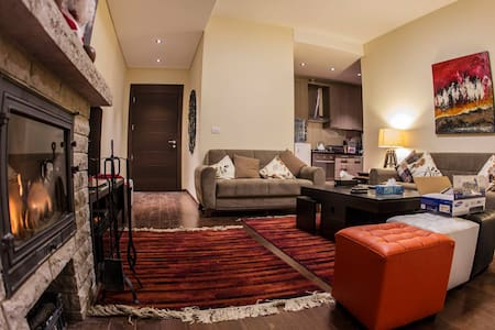 1 bedroom Chalet fully furnished inside Faqra Club