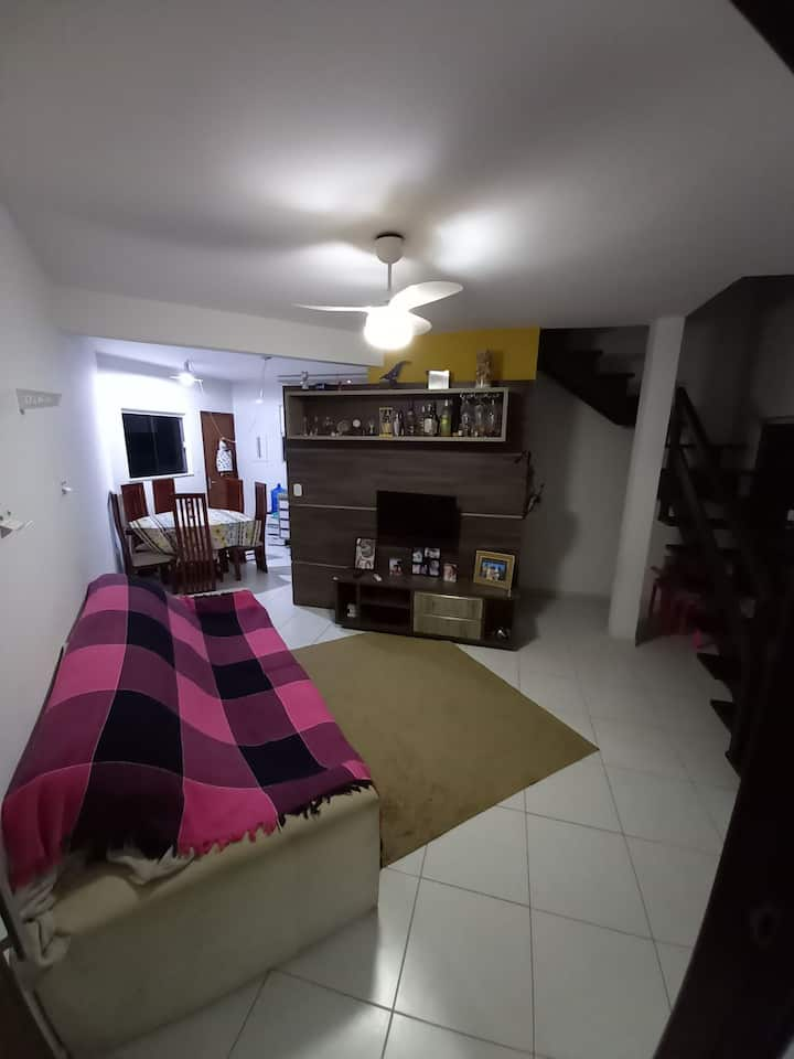Casa Dúplex Próximo a Praia da Joana/Areias negras