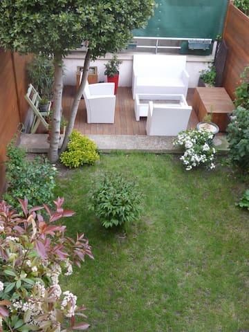 duplex avec jardin - Sartrouville