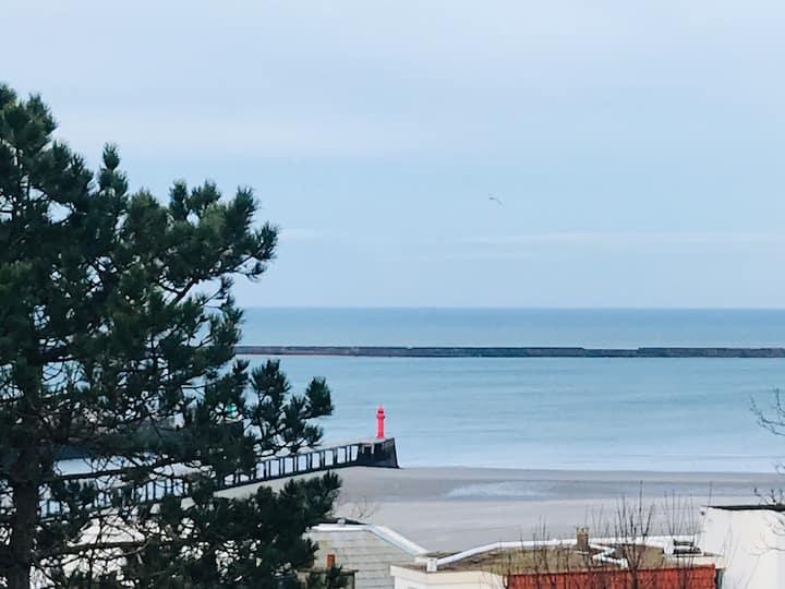 Maison vue sur Mer - proche port et Nausicaa