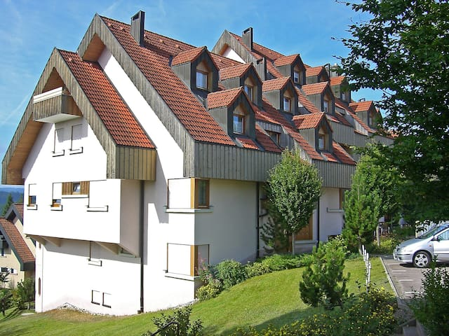 2-room apartment 46 m² Schwarzwaldblick for 4 persons in Schonach - Schonach - Apartamento
