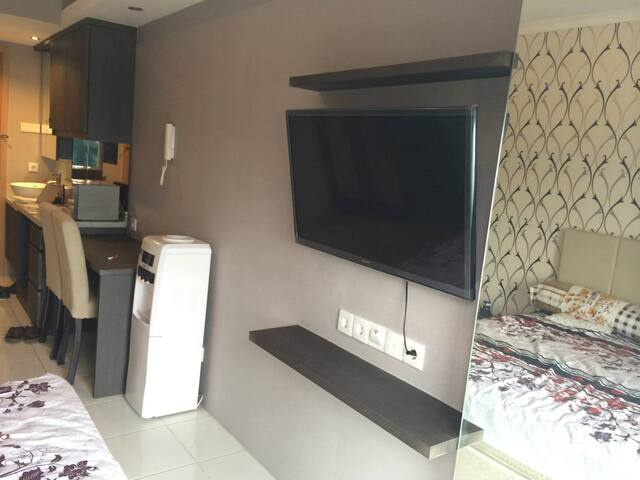 Studio room at Signature Park Apartment - Tebet - Daire