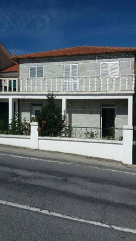 Maison nord du Portugal dans un village typique