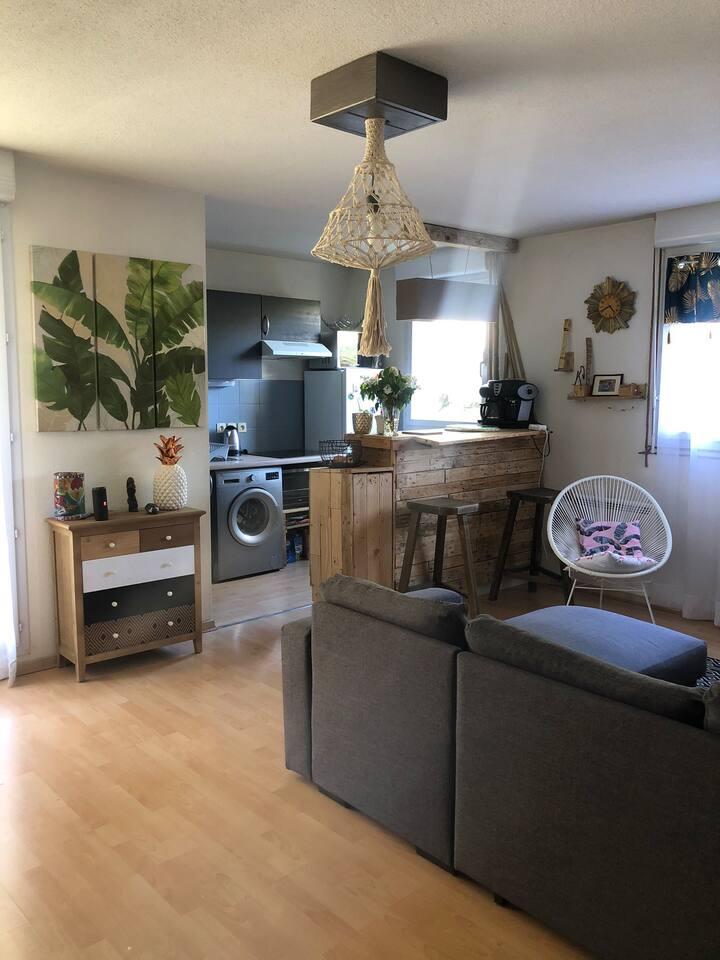 Bel appartement à Figeac