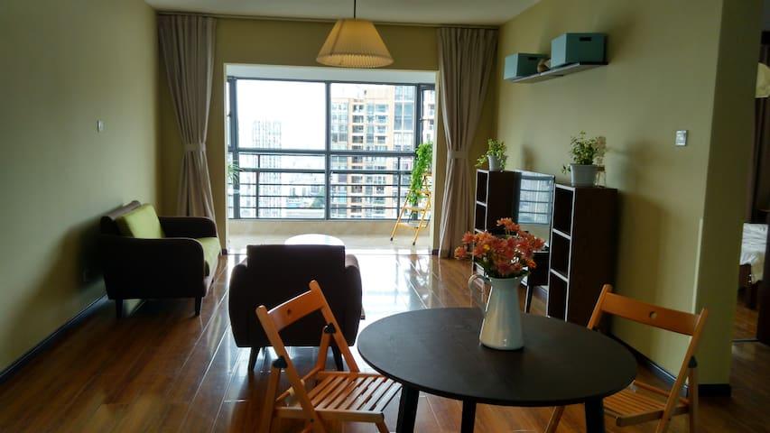 西市区二环内雅致简约五华区高新区学区内2室1厅高层公寓 - Kunming - Appartement