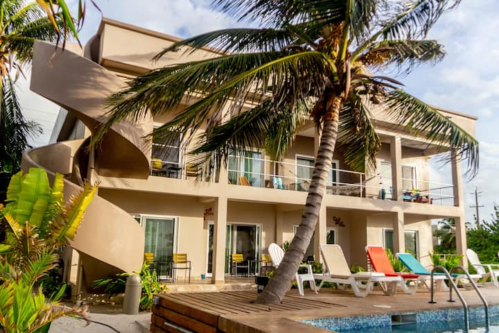 Coco King Suite-Beach Front-1 BR, 1 BA, Ful Kit 24