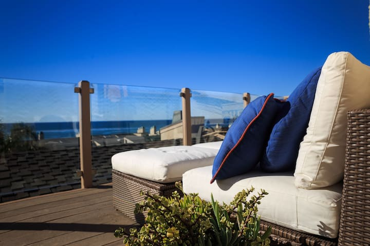 Escape to Solana Beach Oceanview - Solana Beach
