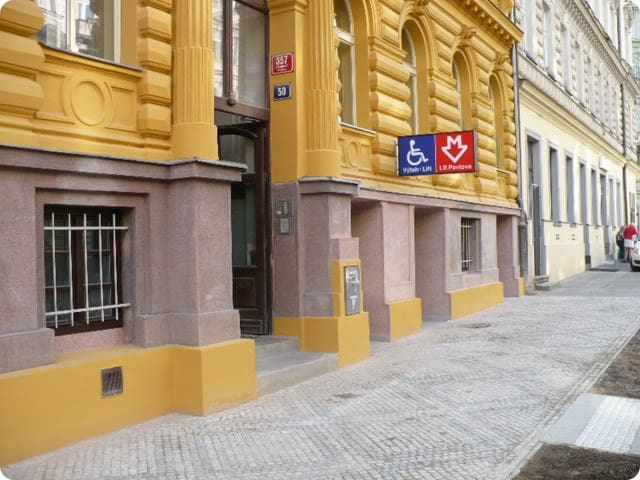 """Elevator to the nearest subway station """"I.P. Pavlova"""" - 3 minutes walk from our apartment"""