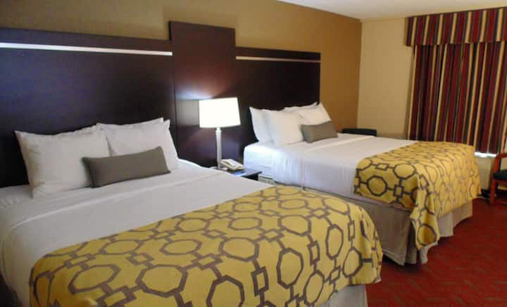 Attractive Double Two Double Beds Non Smoking At Gatlinburg