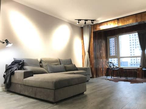 文字故乡壹号公寓(万达商圈) Luxury apartment