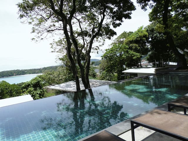1 bed bungalow S with Kata beach view