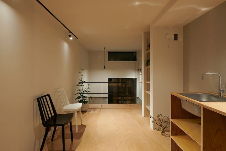 #102 Designer terrace house near Shinjuku