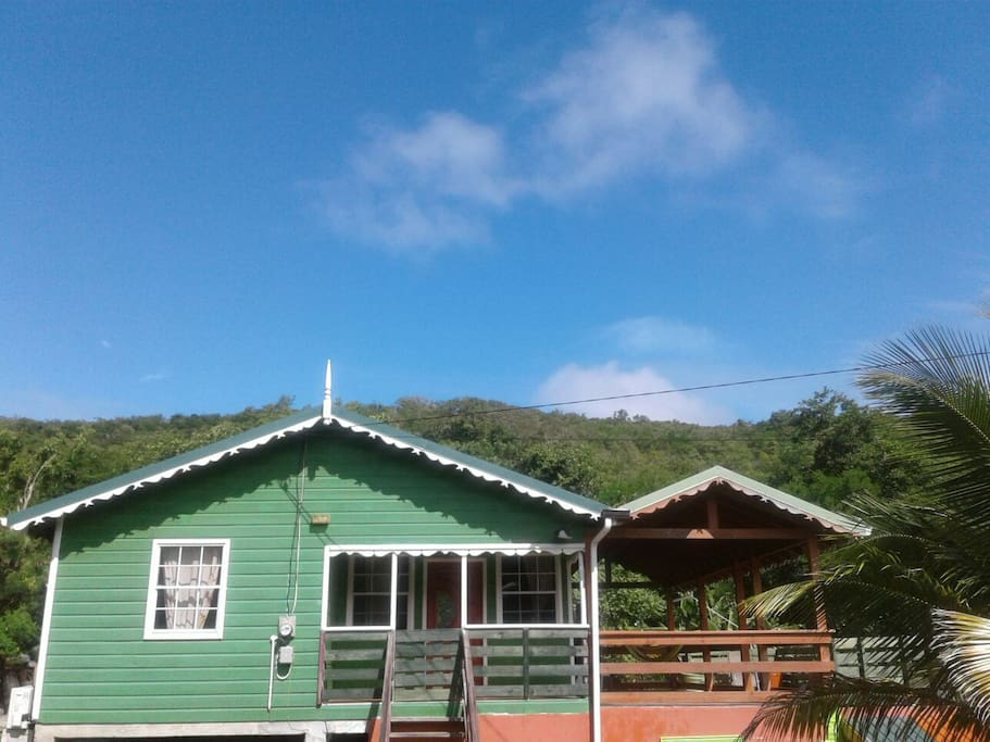 Seawind Cottage 3 Traditional St Lucian Style