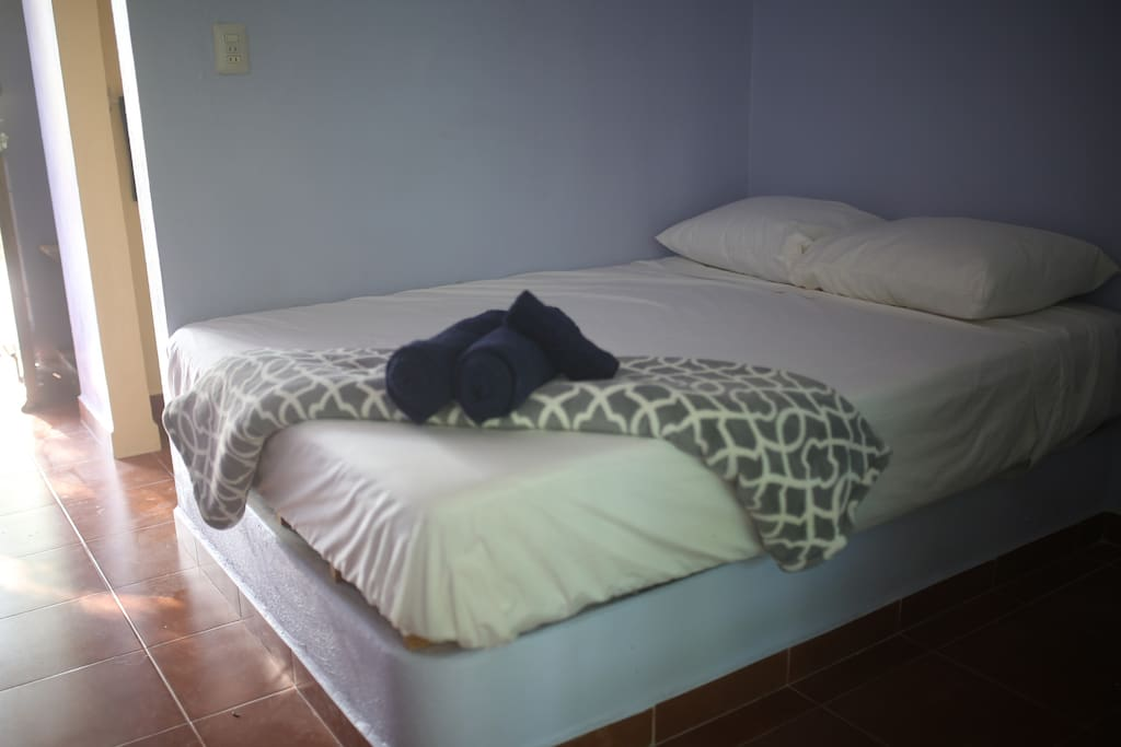 "The Bed is ""Matrimonial"" - size (135 x 190 cm.)."