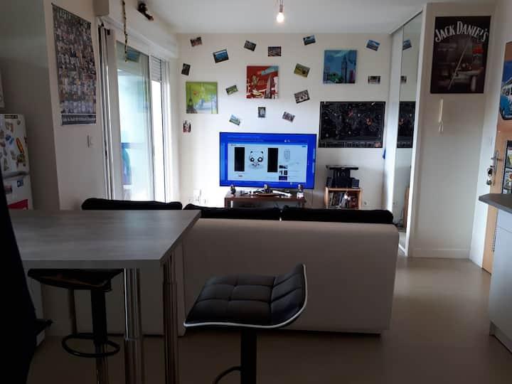 Appartement T2 La rochelle(minimes)