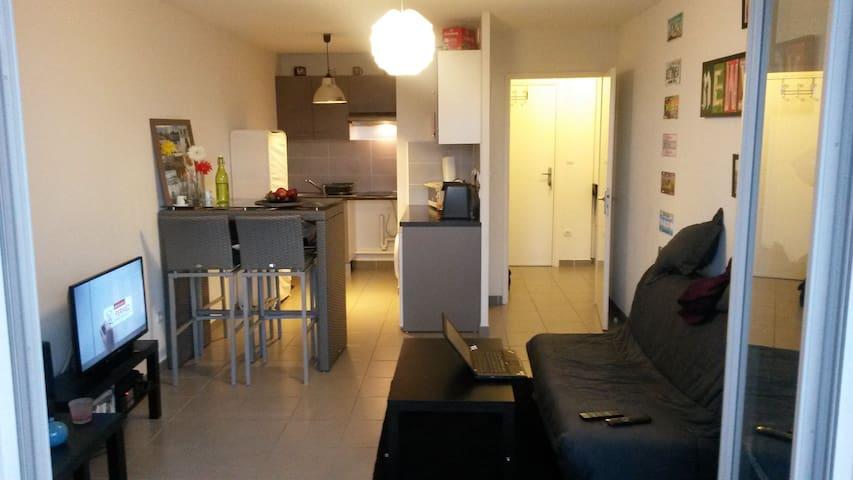 Appartement T2 Toulouse Borderouge - Toulouse - Apartment