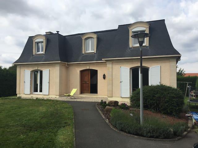 4 chambres à 5min d Arras - Neuville-Saint-Vaast - House